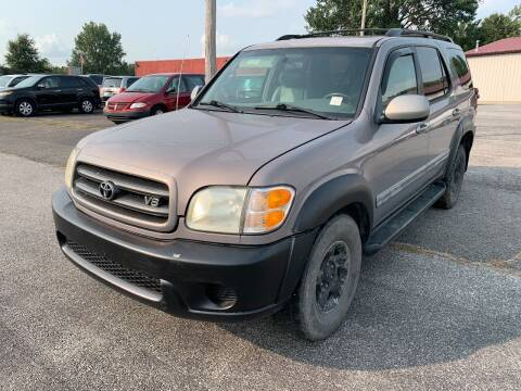 2002 Toyota Sequoia for sale at Best Buy Auto Sales in Murphysboro IL