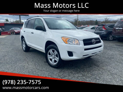 2011 Toyota RAV4 for sale at Mass Motors LLC in Worcester MA