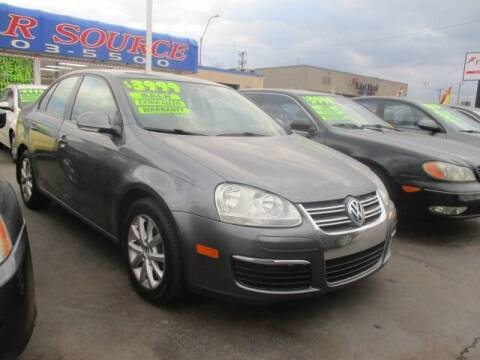 2010 Volkswagen Jetta for sale at CAR SOURCE OKC in Oklahoma City OK