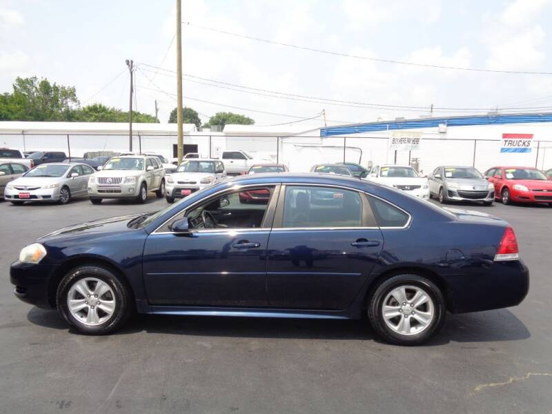 2012 Chevrolet Impala for sale at Cars Unlimited Inc in Lebanon TN