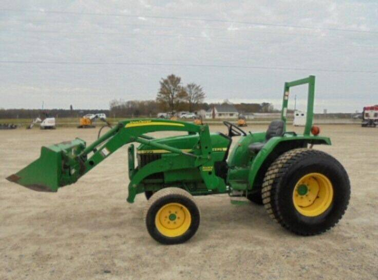 2007 John Deere 990 tractor w/300CX loader for sale at Vehicle Network - Dick Smith Equipment in Goldsboro NC