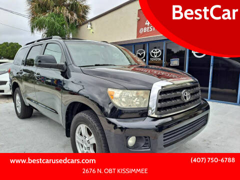 2008 Toyota Sequoia for sale at BestCar in Kissimmee FL