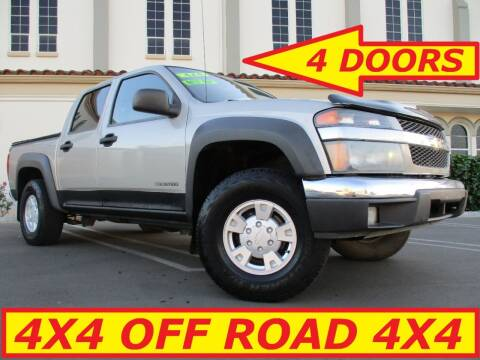 2005 Chevrolet Colorado for sale at ALL STAR TRUCKS INC in Los Angeles CA