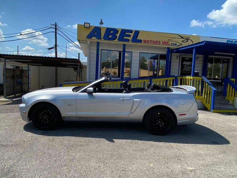 2014 Ford Mustang for sale at Abel Motors, Inc. in Conroe TX