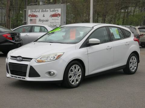 2012 Ford Focus for sale at United Auto Service in Leominster MA