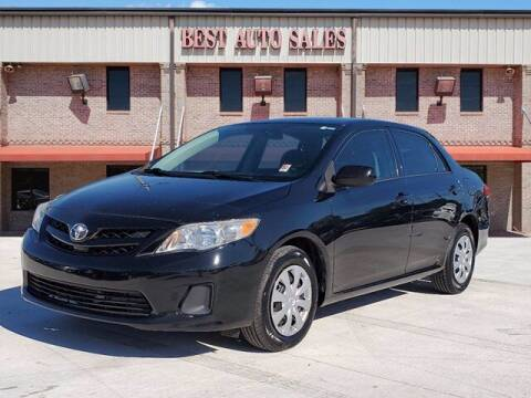 2013 Toyota Corolla for sale at Best Auto Sales LLC in Auburn AL