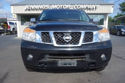 2010 Nissan Armada for sale at Jennings Motor Company in West Columbia SC