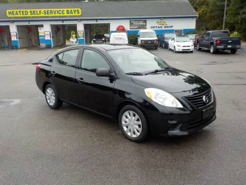 2012 Nissan Versa for sale at RTE 123 Village Auto Sales Inc. in Attleboro MA