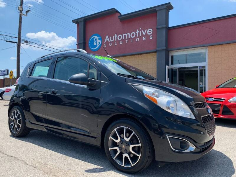 2013 Chevrolet Spark for sale at Automotive Solutions in Louisville KY