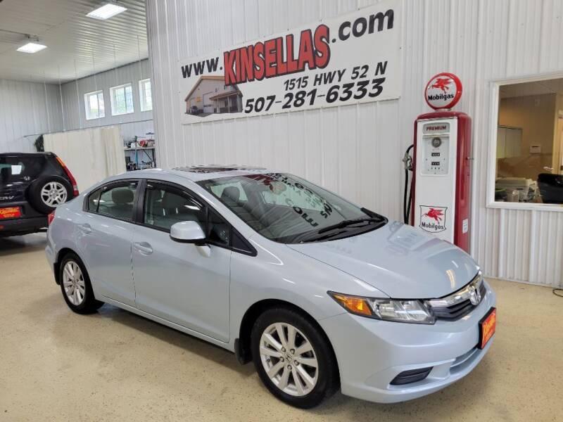 2012 Honda Civic for sale at Kinsellas Auto Sales in Rochester MN