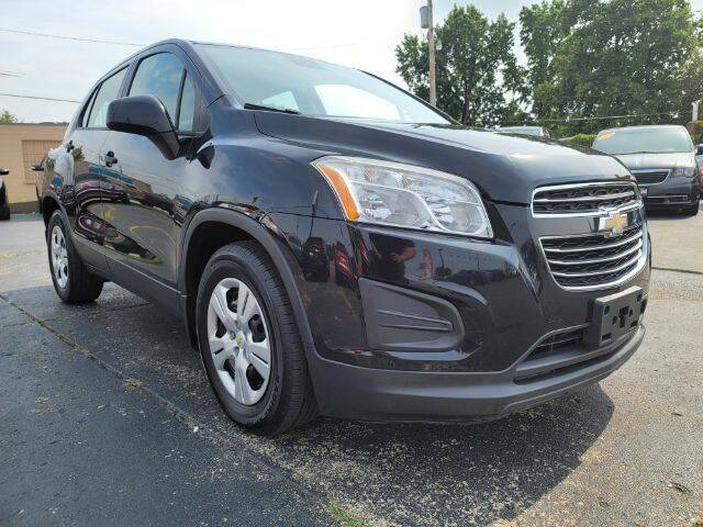2015 Chevrolet Trax for sale at Dixie Automart LLC in Hamilton OH