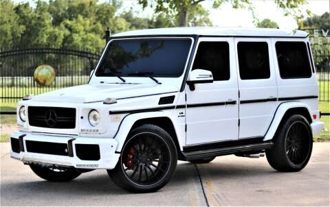 2003 Mercedes-Benz G-Class for sale at Texas Auto Corporation in Houston TX