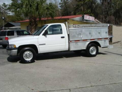 1999 Dodge Ram Pickup 2500 for sale at VANS CARS AND TRUCKS in Brooksville FL