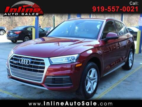 2018 Audi Q5 for sale at Inline Auto Sales in Fuquay Varina NC