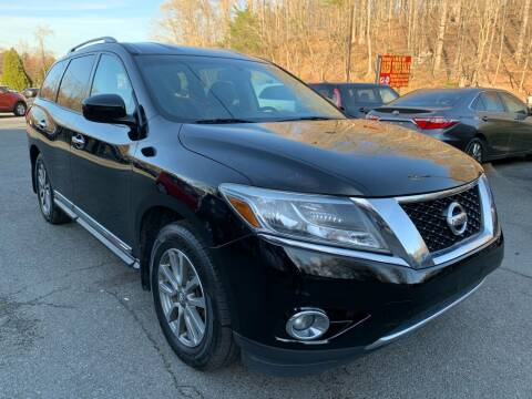 2014 Nissan Pathfinder for sale at D & M Discount Auto Sales in Stafford VA