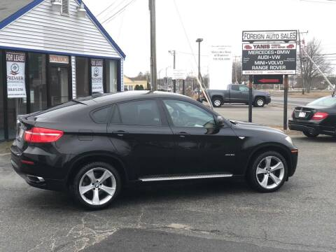 2009 BMW X6 for sale at HYANNIS FOREIGN AUTO SALES in Hyannis MA