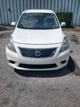 2012 Nissan Versa for sale at Eastside Car Sales in Lithonia GA