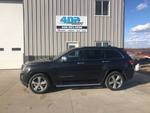 2014 Jeep Grand Cherokee for sale at 402 Autos in Lindsay NE