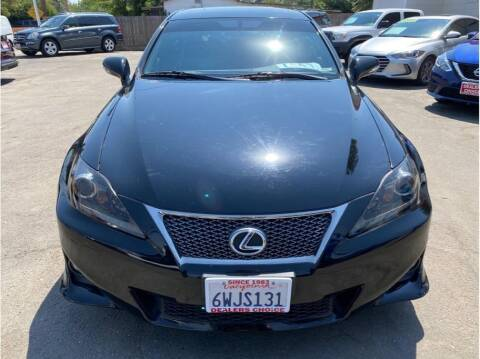 2012 Lexus IS 250 for sale at Dealers Choice Inc in Farmersville CA
