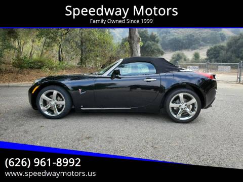 2007 Pontiac Solstice for sale at Speedway Motors in Glendora CA