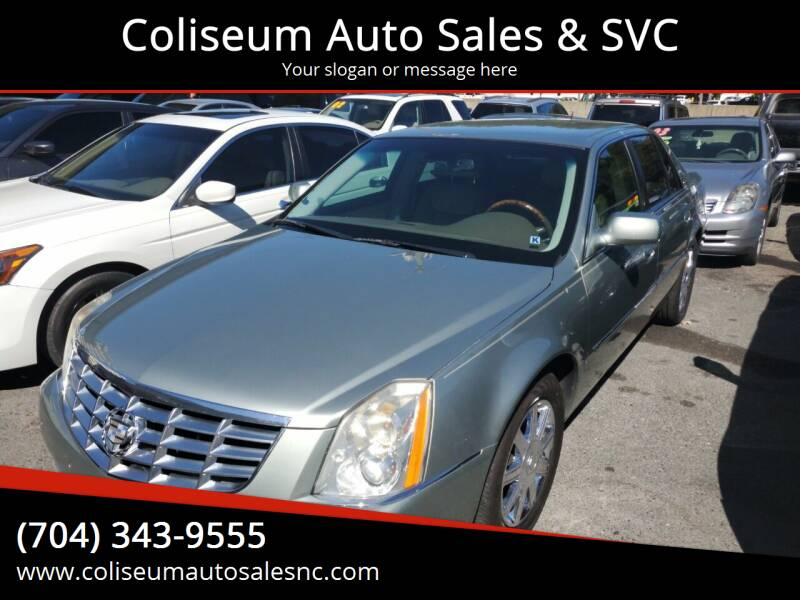 2006 Cadillac DTS for sale at Coliseum Auto Sales & SVC in Charlotte NC