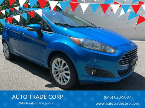 2014 Ford Fiesta for sale at AUTO TRADE CORP in Nanuet NY
