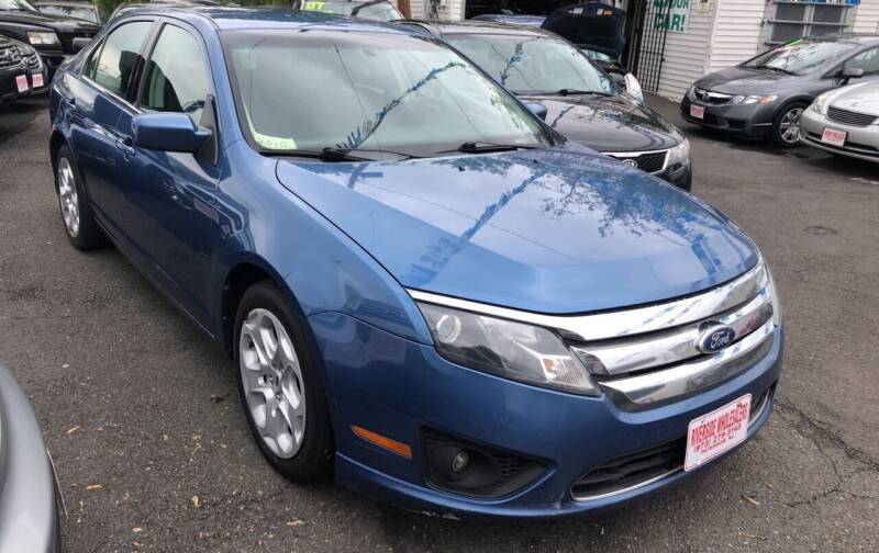 2010 Ford Fusion for sale at Riverside Wholesalers 2 in Paterson NJ