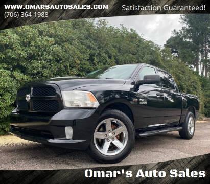 2015 RAM Ram Pickup 1500 for sale at Omar's Auto Sales in Martinez GA
