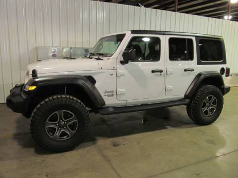2018 Jeep Wrangler Unlimited for sale at Flaherty's Hi-Tech Motorwerks in Albert Lea MN