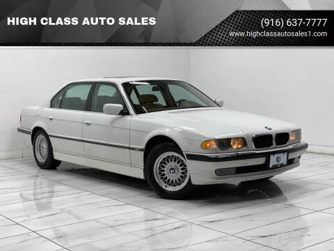 2001 BMW 7 Series for sale at HIGH CLASS AUTO SALES in Rancho Cordova CA