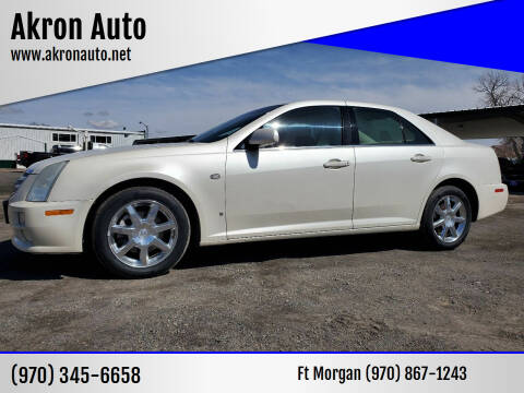2006 Cadillac STS for sale at Akron Auto - Fort Morgan in Fort Morgan CO