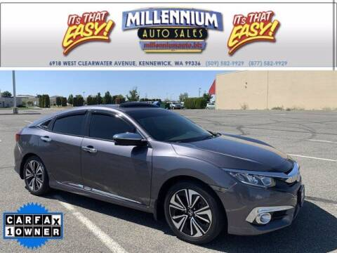 2017 Honda Civic for sale at Millennium Auto Sales in Kennewick WA
