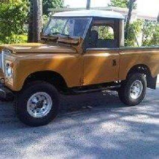 1974 Land Rover Series III for sale at Classic Car Deals in Cadillac MI