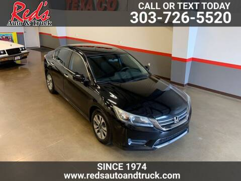 2013 Honda Accord for sale at Red's Auto and Truck in Longmont CO