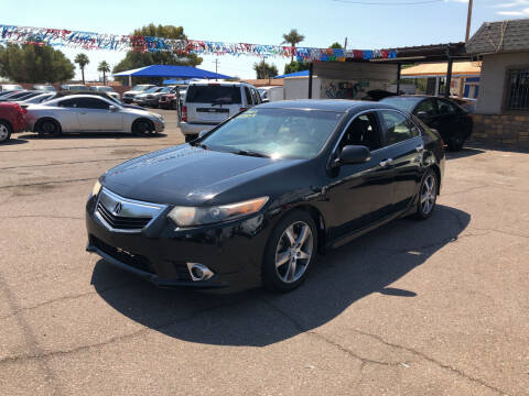 2013 Acura TSX for sale at Valley Auto Center in Phoenix AZ