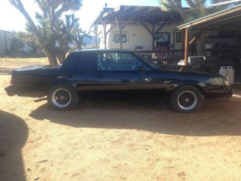 1987 Buick Grand National for sale at Classic Car Deals in Cadillac MI