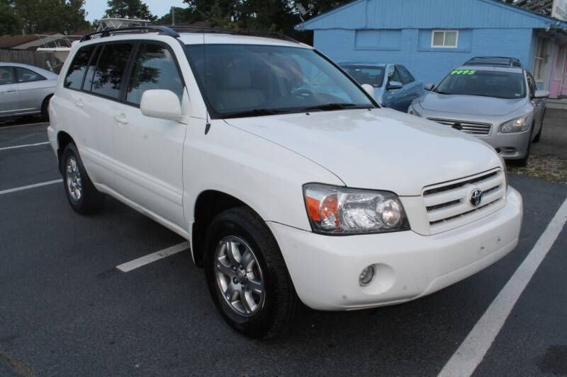 2007 Toyota Highlander for sale at Drive Now Auto Sales in Norfolk VA