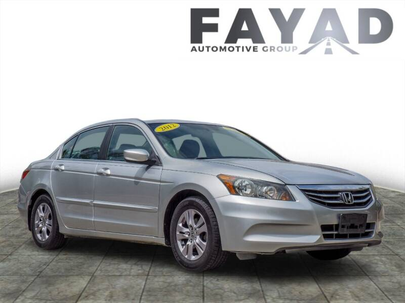 2012 Honda Accord for sale at FAYAD AUTOMOTIVE GROUP in Pittsburgh PA