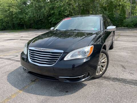 2011 Chrysler 200 for sale at TKP Auto Sales in Eastlake OH