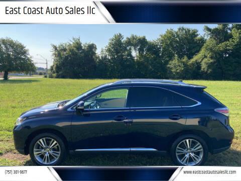 2015 Lexus RX 350 for sale at East Coast Auto Sales llc in Virginia Beach VA