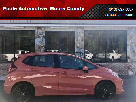 2019 Honda Fit for sale at Poole Automotive -Moore County in Aberdeen NC