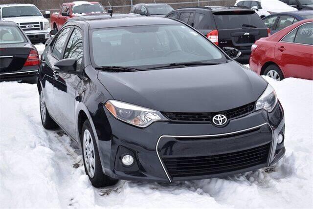 2016 Toyota Corolla for sale at BOB ROHRMAN FORT WAYNE TOYOTA in Fort Wayne IN