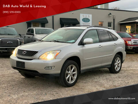 2009 Lexus RX 350 for sale at DAB Auto World & Leasing in Wake Forest NC