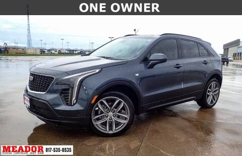 2020 Cadillac XT4 for sale at Meador Dodge Chrysler Jeep RAM in Fort Worth TX