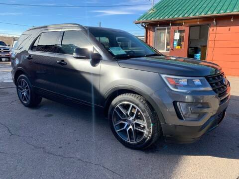 2016 Ford Explorer for sale at BERKENKOTTER MOTORS in Brighton CO