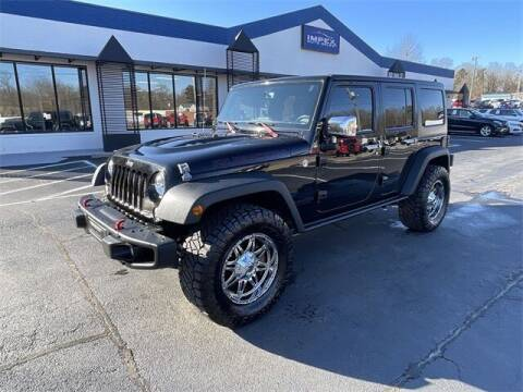 2015 Jeep Wrangler Unlimited for sale at Impex Auto Sales in Greensboro NC