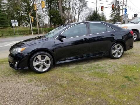 2014 Toyota Camry for sale at Action Auto Sales in Parkersburg WV