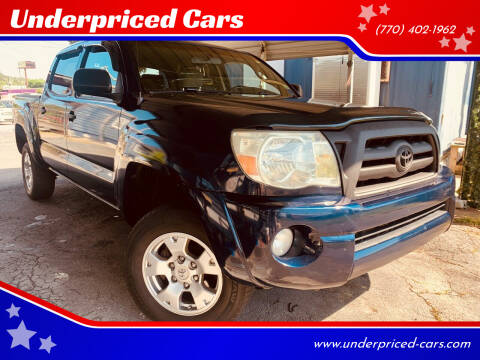 2006 Toyota Tacoma for sale at Underpriced Cars in Marietta GA