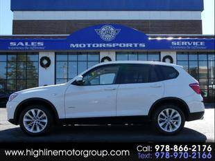2015 BMW X3 for sale at Highline Group Motorsports in Lowell MA