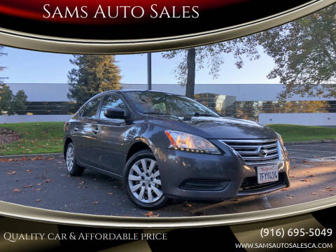 2014 Nissan Sentra for sale at Sams Auto Sales in North Highlands CA
